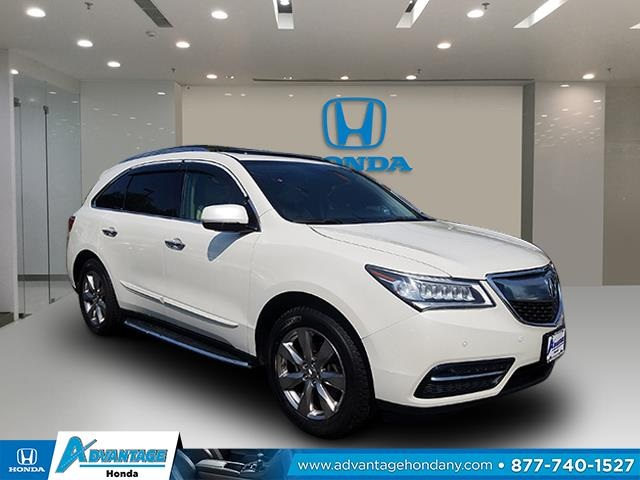 Pre-Owned 2014 Acura MDX 3.5L Advance Pkg w/Entertainment Pkg